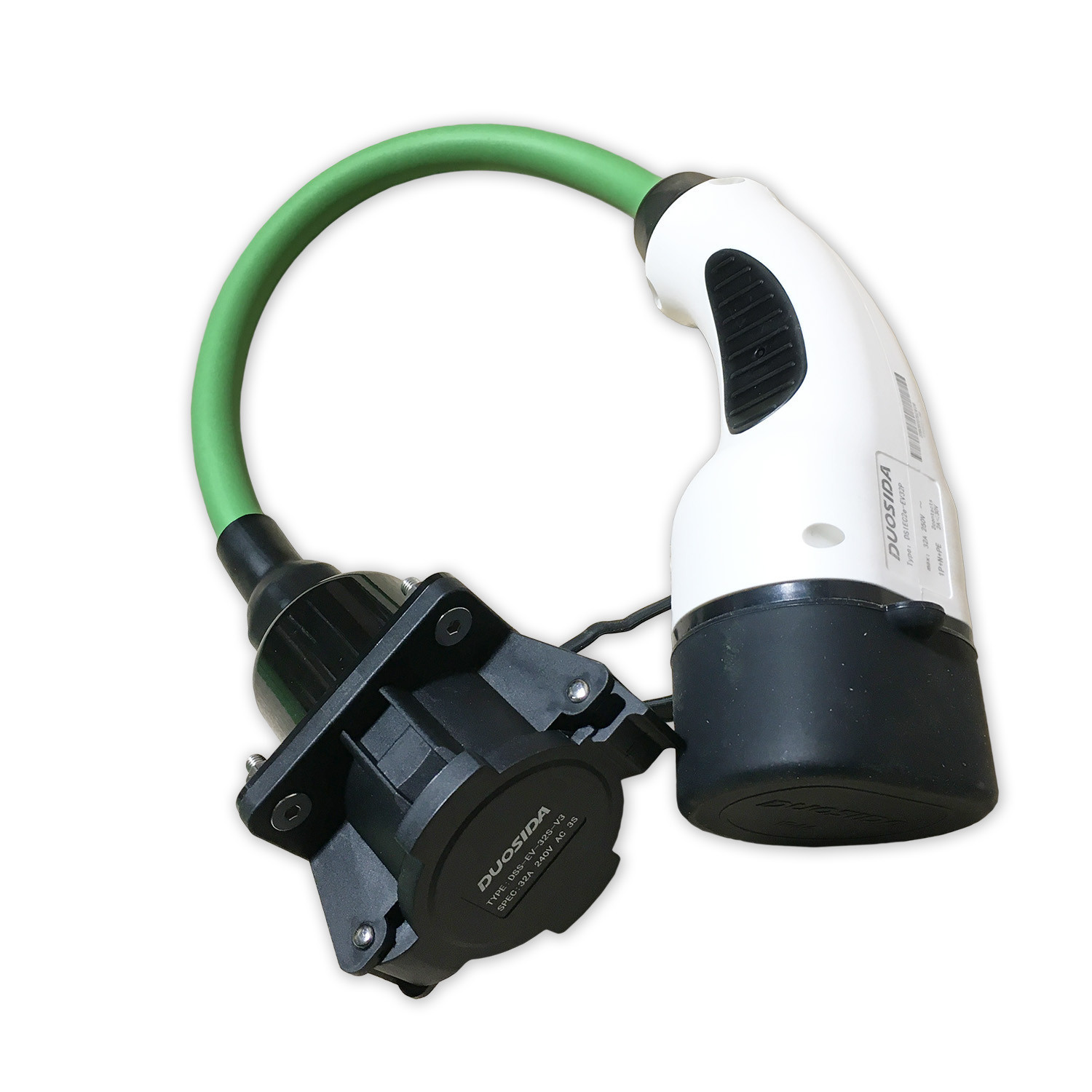 Picture of 0.3 Metre Charging Cable Converter  - Type 1 to Type 2  - 7.4kW - 32A