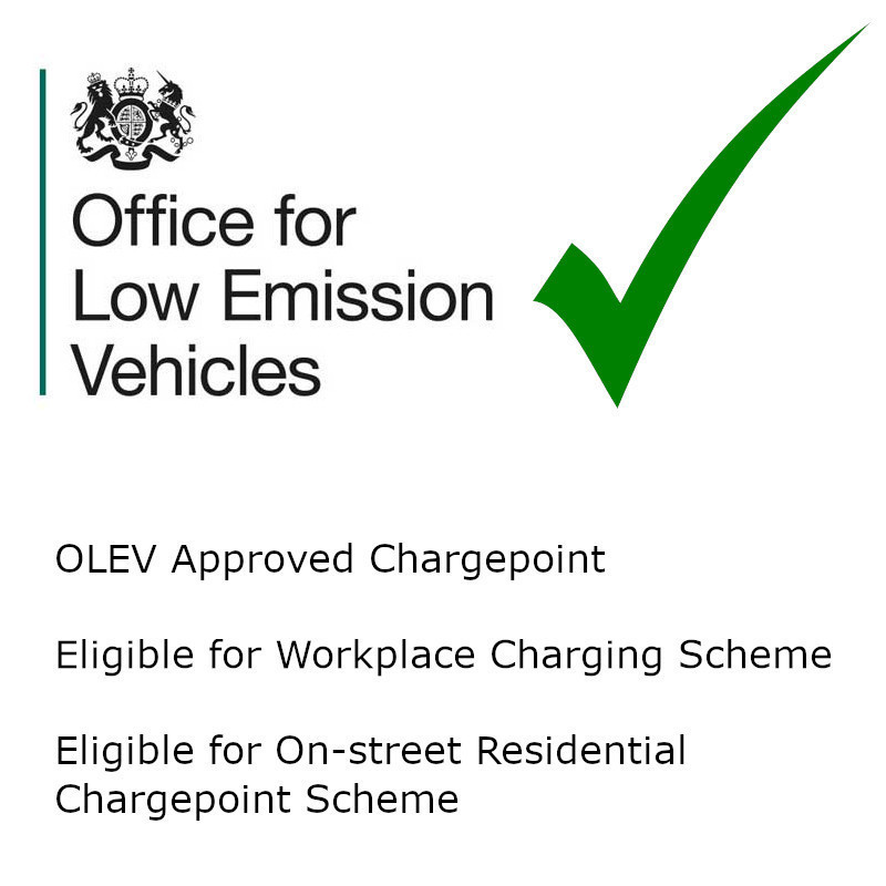 OLEV Approved Chargepoint