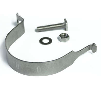 Anti-Rotational Clips for Mounting Signs on Posts
